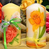 Сувениры и подарки ручной работы. Ярмарка Мастеров - ручная работа Цветочная двойня. Handmade.