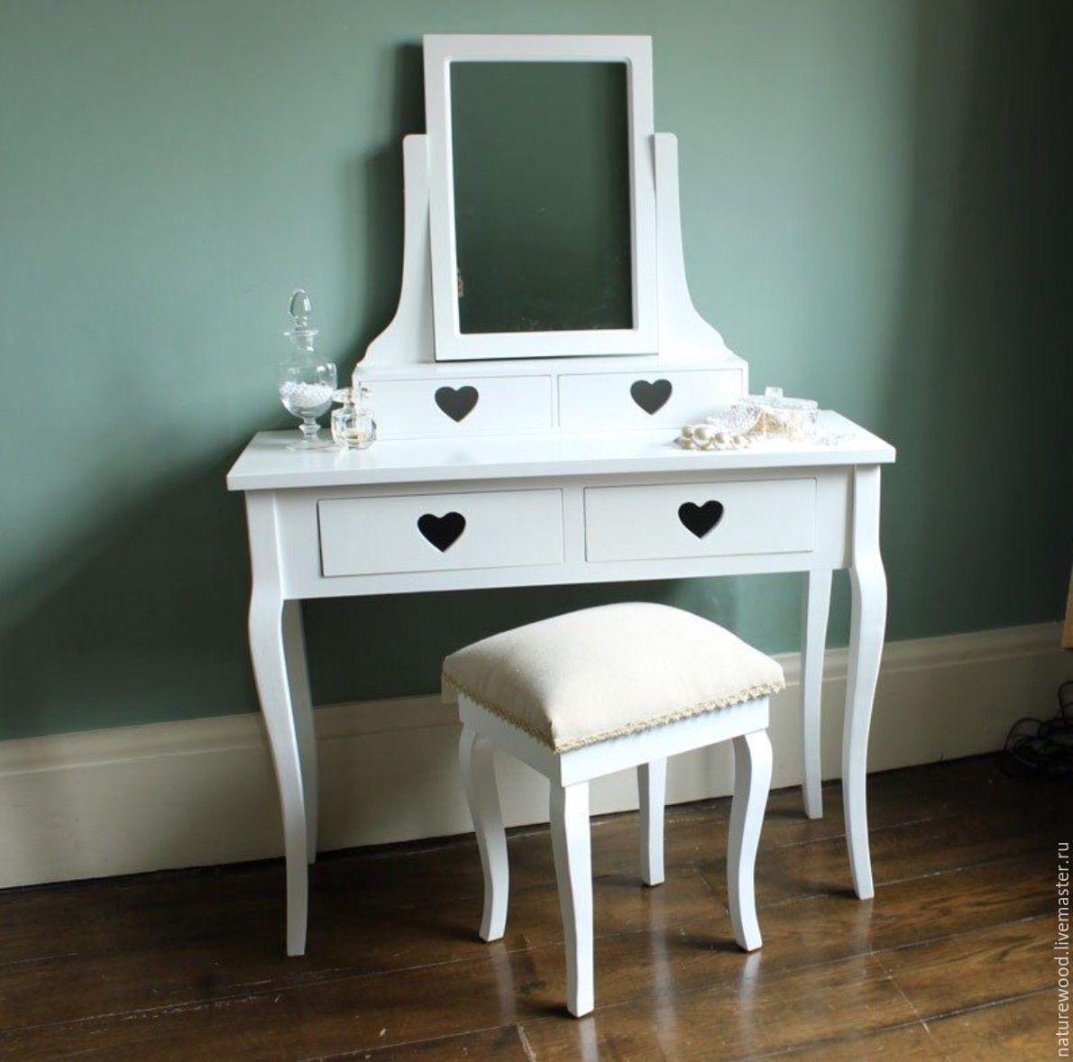 туалетный столик с зеркалом купить в интернет магазине на ярмарке