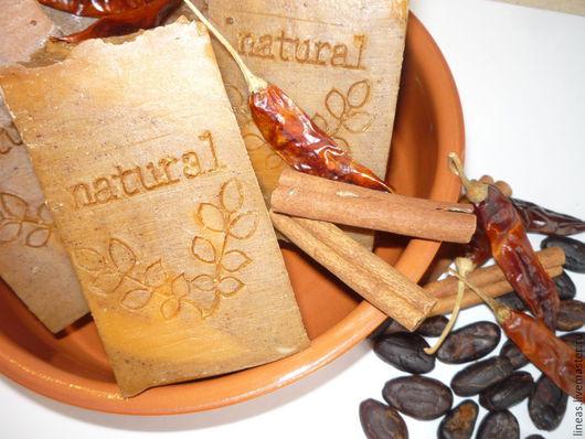 """Мыло ручной работы. Ярмарка Мастеров - ручная работа. Купить """"Chocolatl Монтесумы"""" натуральное щелочное мыло ручной работы. Handmade."""