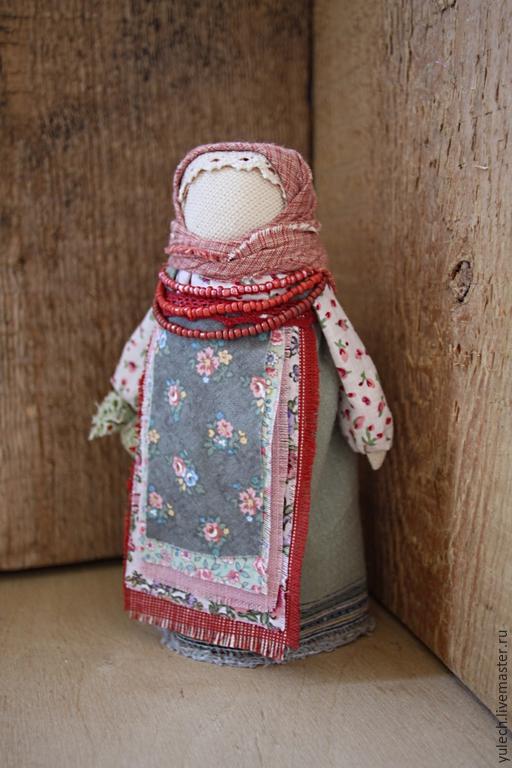 """Народные куклы ручной работы. Ярмарка Мастеров - ручная работа. Купить Куколка-подорожница народная русская """"Дороженька..."""". Handmade."""