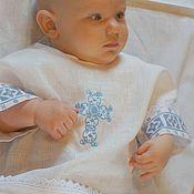 Работы для детей, ручной работы. Ярмарка Мастеров - ручная работа Крестильная рубашка.. Handmade.