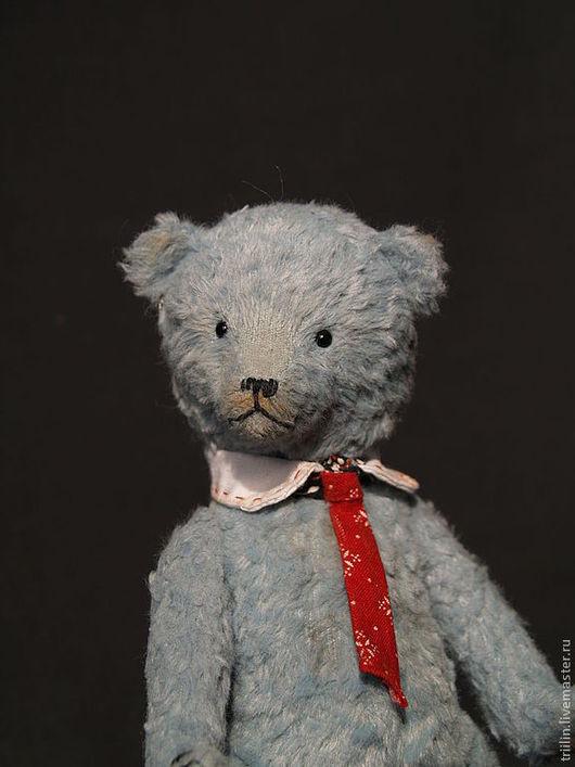 Мишки Тедди ручной работы. Ярмарка Мастеров - ручная работа. Купить Мишка Тедди Виктор - единственный экземпляр. Handmade. Голубой