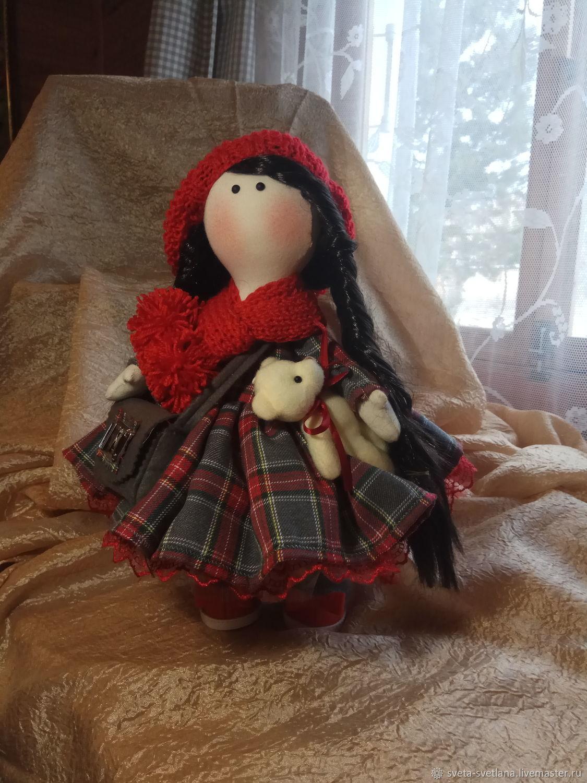 Красная шапочка, Портретная кукла, Москва,  Фото №1