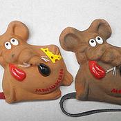 Сувениры и подарки handmade. Livemaster - original item Magnet rats. Handmade.