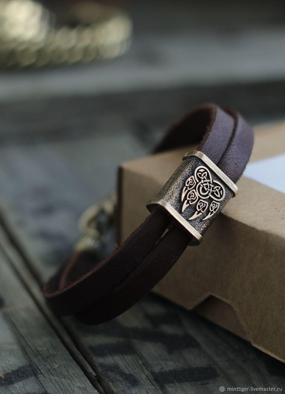 Bracelets handmade. Livemaster - handmade. Buy Velez leather paw bracelet.Leather, the bracelet on the arm