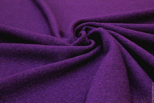 Шитье ручной работы. Ярмарка Мастеров - ручная работа. Купить Костюмный  шерстяной лоден  Италия  3 цвета. Handmade.