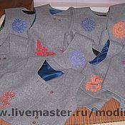 Одежда ручной работы. Ярмарка Мастеров - ручная работа жилеты. Handmade.