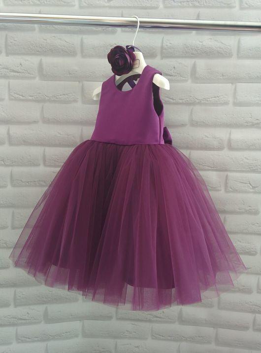 Одежда для девочек, ручной работы. Ярмарка Мастеров - ручная работа. Купить детское платье. Handmade. Платье нарядное, платье для девочки