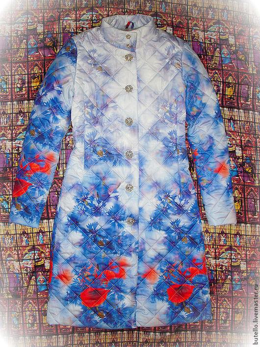 Одежда для девочек, ручной работы. Ярмарка Мастеров - ручная работа. Купить Куртка/жилет для девочки. Handmade. Цветочный, весенняя куртка, жилетка