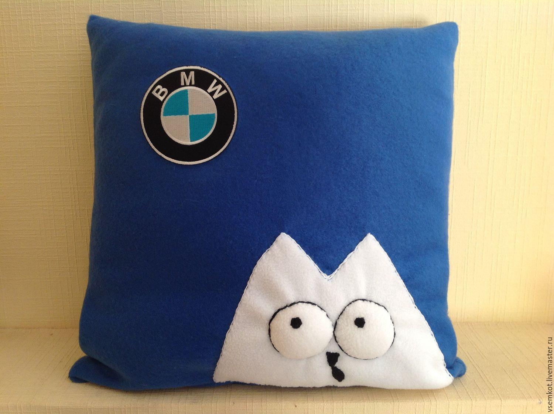 Подушка-машина своими руками