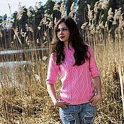 """Одежда ручной работы. Ярмарка Мастеров - ручная работа Пуловер """"Весенние краски"""". Handmade."""