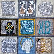 Картины и панно ручной работы. Ярмарка Мастеров - ручная работа гобнлен ,,По страницам детской библии ,, часть 3. Handmade.
