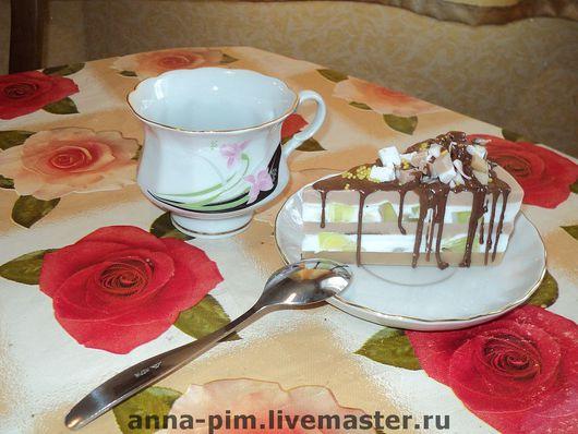 """Мыло ручной работы. Ярмарка Мастеров - ручная работа. Купить Мыло """"Шоколадный торт"""". Handmade. Мыло ручной работы"""