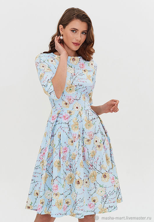 "Платье ""Appleblossom"", Платья, Москва,  Фото №1"