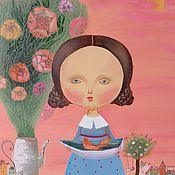 """Картины и панно ручной работы. Ярмарка Мастеров - ручная работа Картина """"Лелейте мечту"""". Handmade."""