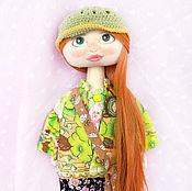 Куклы и игрушки ручной работы. Ярмарка Мастеров - ручная работа Текстильная кукла Мэри со съемным пиджачком. Handmade.
