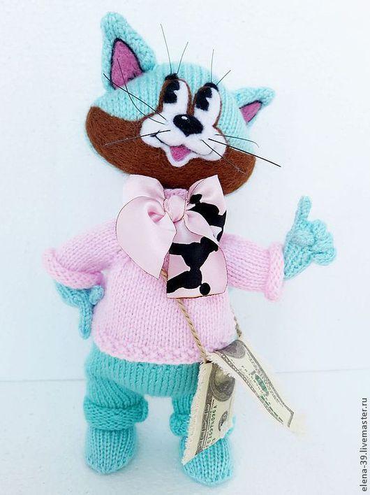 Игрушки животные, ручной работы. Ярмарка Мастеров - ручная работа. Купить Бенджамин. Авторская кукла.. Handmade. Кот, авторские куклы