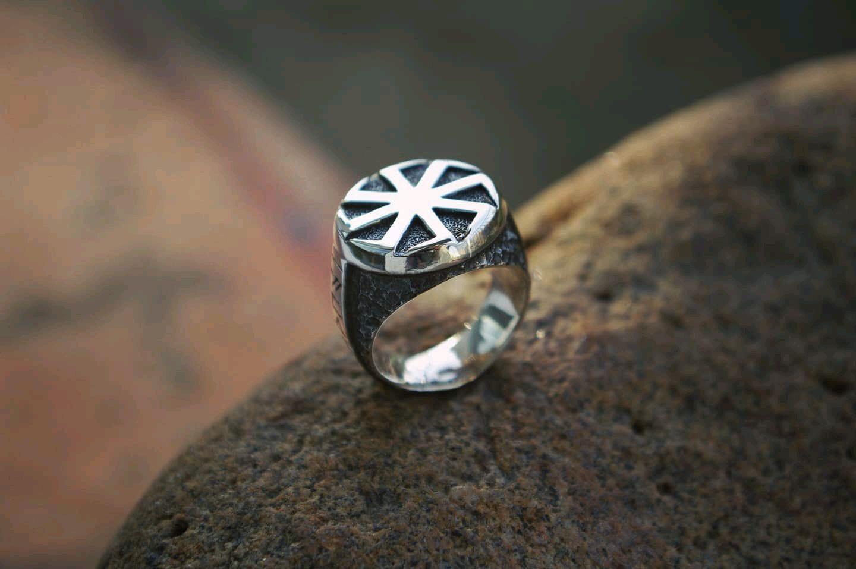 Ring amulet ' Kolovrat', Amulet, St. Petersburg,  Фото №1