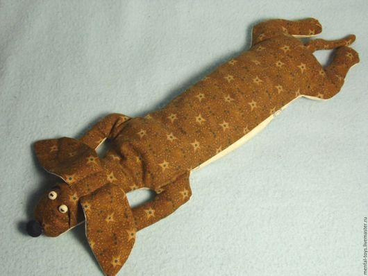 Игрушки животные, ручной работы. Ярмарка Мастеров - ручная работа. Купить Собака Такса Перловка. Handmade. Такса, текстильная игрушка