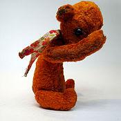 Куклы и игрушки ручной работы. Ярмарка Мастеров - ручная работа Мишка Рыжик. Handmade.
