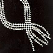 Украшения handmade. Livemaster - original item Natural white pearls necklace with pendant. Handmade.