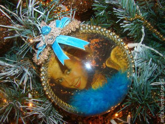 Винтажный шар с изображением ваших близких