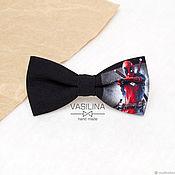 Аксессуары handmade. Livemaster - original item Deadpool bow Tie, Deadpool. Handmade.