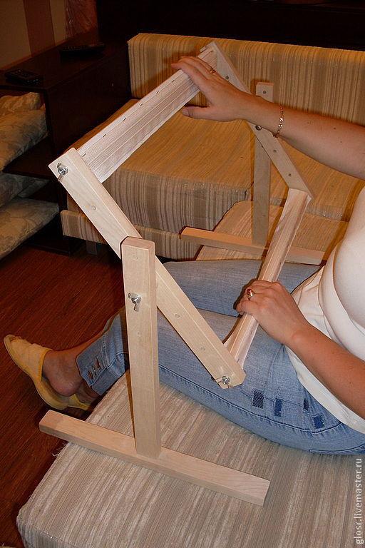 Как сделать самому диванный станок для вышивания
