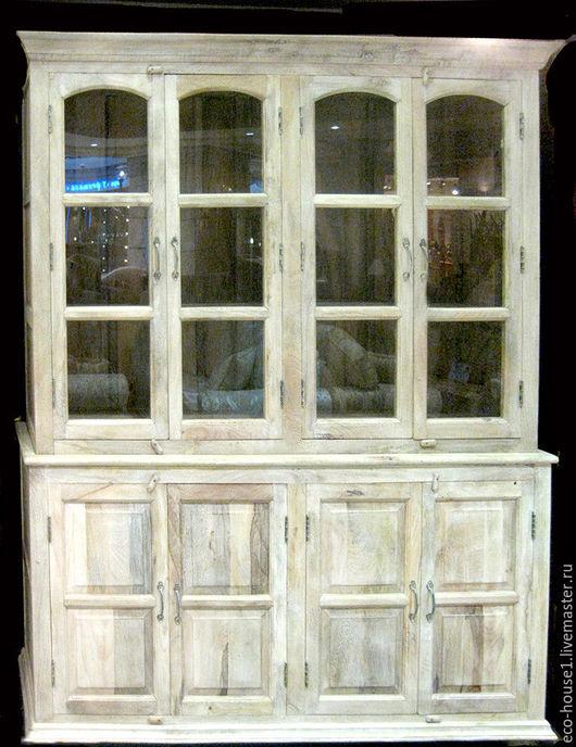 Мебель ручной работы. Ярмарка Мастеров - ручная работа. Купить Беленый книжный шкаф. Handmade. Белый, ручная работа, краска