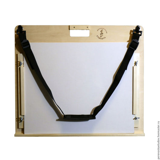 Планшет-переноска для масляных этюдов двусторонний регулируемый. Для этюдов размером до 40х50 см. На 4 холста. Творческая мастерская Бригита. Елена Ремизова.