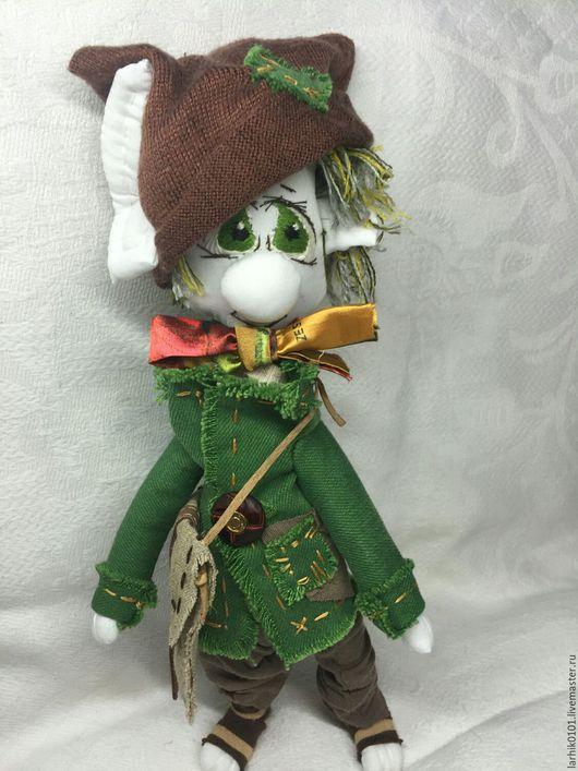 Сказочные персонажи ручной работы. Ярмарка Мастеров - ручная работа. Купить хоббит или гном. Handmade. Лесной человечек, подарок