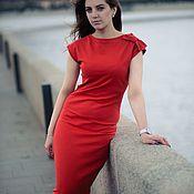 handmade. Livemaster - original item Long knitted dress