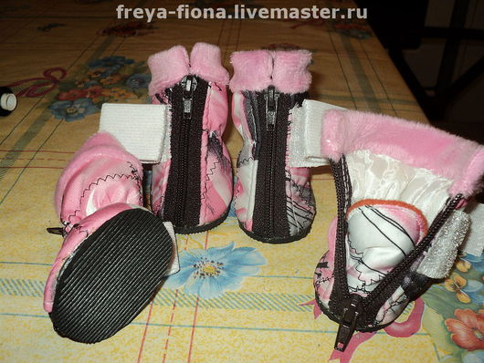 Обувь для животных, ручной работы. Ярмарка Мастеров - ручная работа. Купить обувь для собак. Handmade. Для собак, Плащёвка
