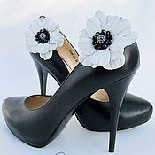 Украшения ручной работы. Ярмарка Мастеров - ручная работа Украшения для обуви Камилла. Handmade.