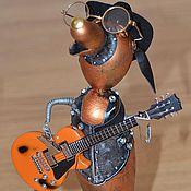 Сувениры и подарки ручной работы. Ярмарка Мастеров - ручная работа Гитарист. Handmade.