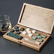 Сувениры и подарки handmade. Livemaster - original item Gift set of stones for whiskey