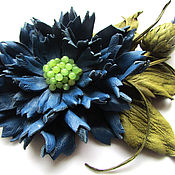 Украшения handmade. Livemaster - original item Brooch Cornflower blue summer. the colors of the skin. Handmade.