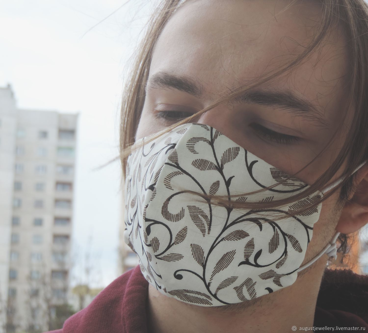 Reusable mouth and nose mask, Protective masks, Kharkiv,  Фото №1