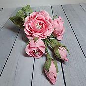 Цветы и флористика ручной работы. Ярмарка Мастеров - ручная работа Цветочный комплимент из конфет. Handmade.