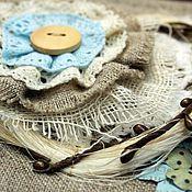 Канцелярские товары ручной работы. Ярмарка Мастеров - ручная работа Альбом в деревенском стиле. Handmade.