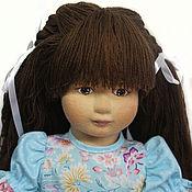 Куклы и игрушки handmade. Livemaster - original item Games textile doll Tanya.. Handmade.