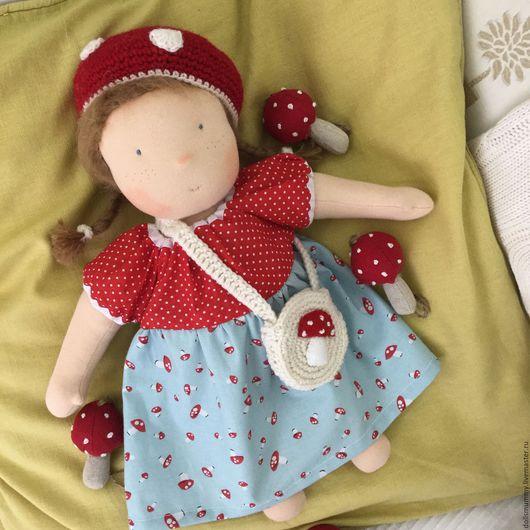 Вальдорфская игрушка ручной работы. Ярмарка Мастеров - ручная работа. Купить Вальдорфская  кукла. Handmade. Разноцветный, подарок девочке