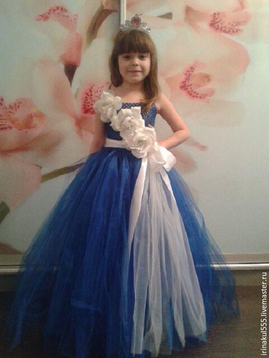 Одежда для девочек, ручной работы. Ярмарка Мастеров - ручная работа. Купить Платье туту. Handmade. Комбинированный, орнамент