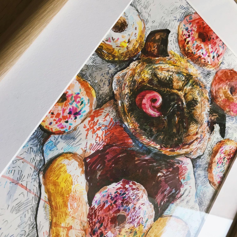 Пончики, Картины, Москва,  Фото №1