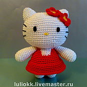 Куклы и игрушки ручной работы. Ярмарка Мастеров - ручная работа Hello Kitty амигуруми. Handmade.