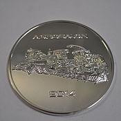 Подарки к праздникам ручной работы. Ярмарка Мастеров - ручная работа серебряная медаль. Handmade.