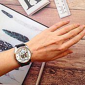 """Украшения ручной работы. Ярмарка Мастеров - ручная работа часы """"Фото рисунок"""". Handmade."""
