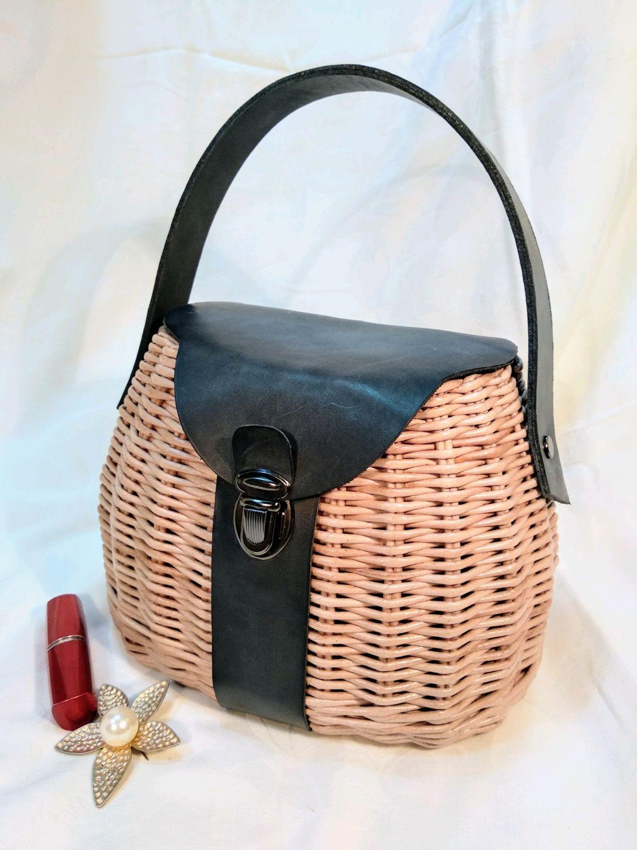 Женская плетеная сумка, Классическая сумка, Заречный,  Фото №1