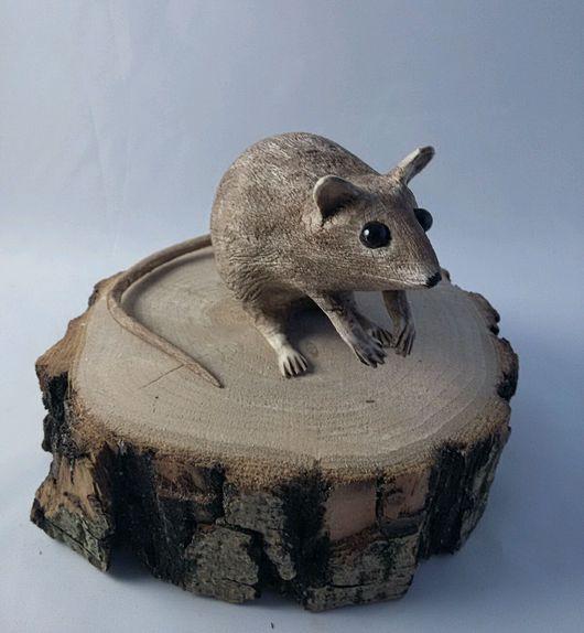 Статуэтки ручной работы. Ярмарка Мастеров - ручная работа. Купить Мышь из дерева. Handmade. Мышь, мышь из дерева, фигурки животных