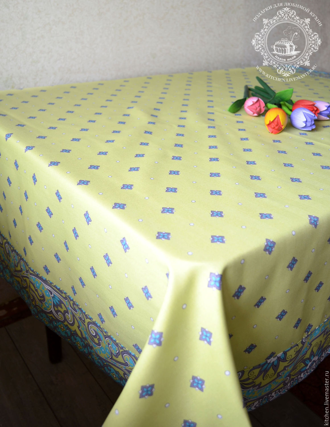 Easter Souvenirs: Tablecloth Olive, Easter souvenirs, Moscow,  Фото №1